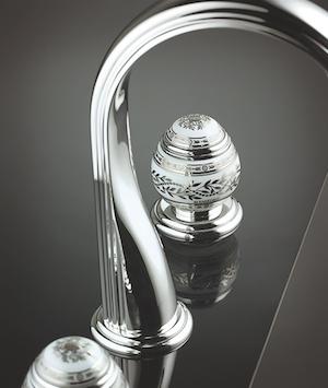 THG-Paris Fabergé egg faucet
