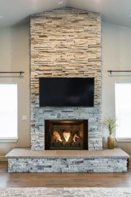 The Phoenix fireplace