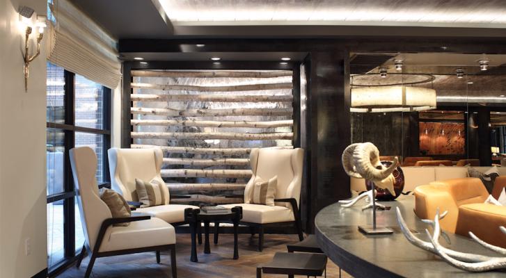 Resident lounge at Tate at Tanglewood, Houston