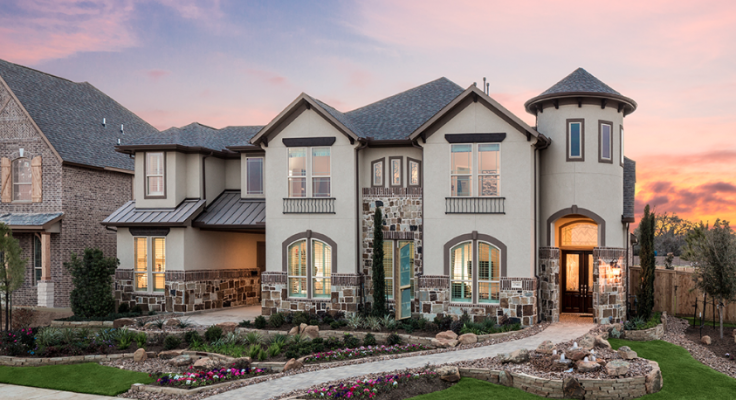 Trendmaker Homes_Lakes at Creekside_home exterior