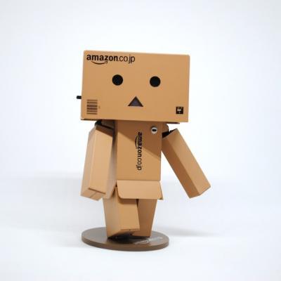 Cardboard box Amazon man_Amazon announces it will open second headquarters in Virginia