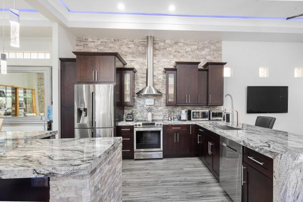 Kitchen   Despite the recent growth, luxury real estate home flipping remains less common than in the years leading up to the housing crash in 2008.