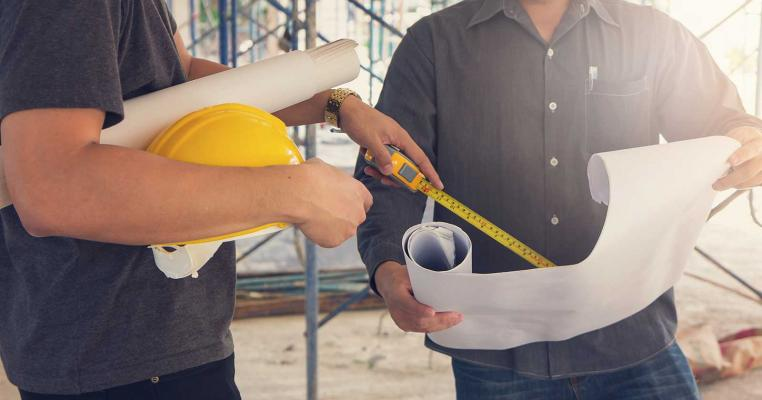 Convince customer they need you_builders on jobsite