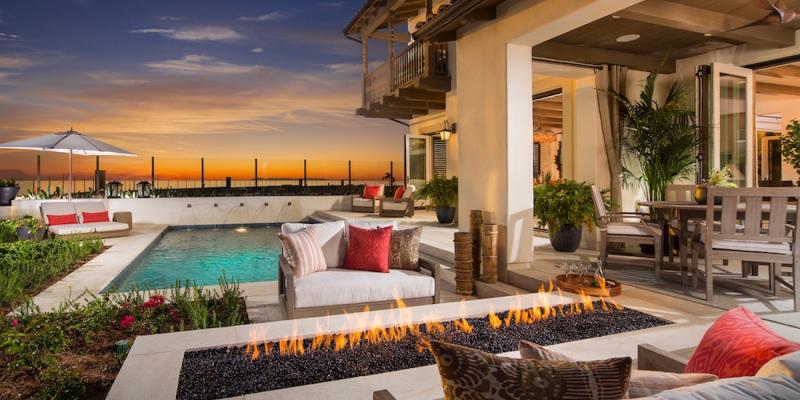 House Review | Outdoor Living Spaces | Professional Builder on Enclosed Outdoor Living Spaces id=46560