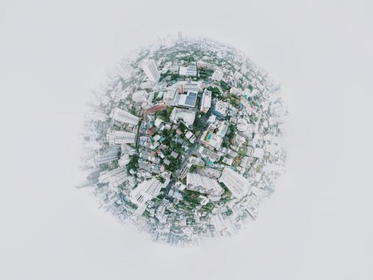 Sphere view of communities