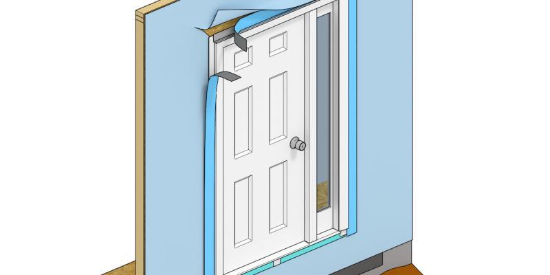 Making Sure Doors Are Watertight | Professional Builder