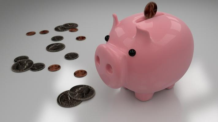 piggy bank savings for down payment