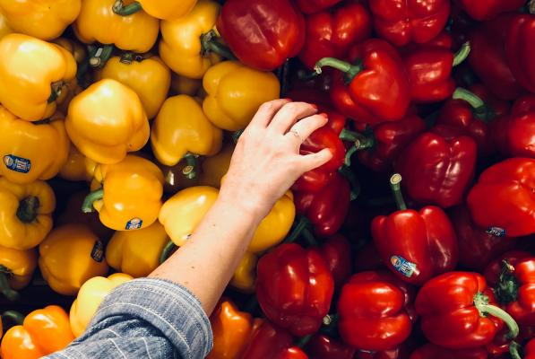 bell peppers shopping