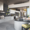 The New American Home 2019_outdoor kitchen_island_beer tap_indoor/outdoor transition