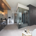 The New American Home 2019_master bath_shower_vanity