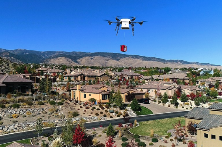 Home builders' potential to be disruptors, like Amazon drone delivery disrupting retail