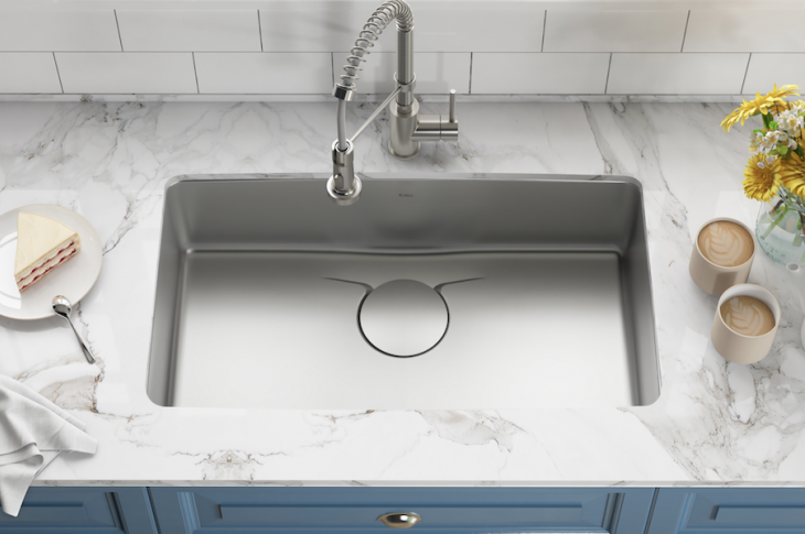 2018 Top 100 Products_Kitchen and bath_Kraus Dex Kitchen Sink series
