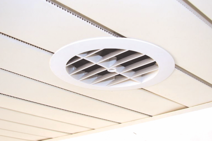 Panasonic soffit vent for home ventilation