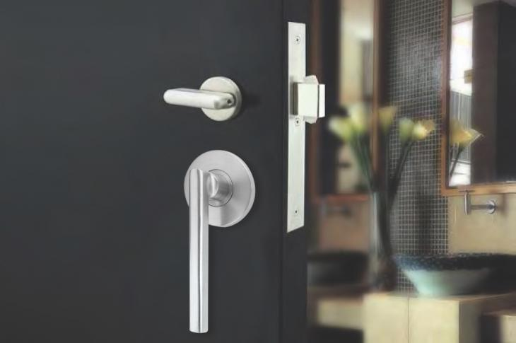 PD95 mortise lock for sliding doors by INOX