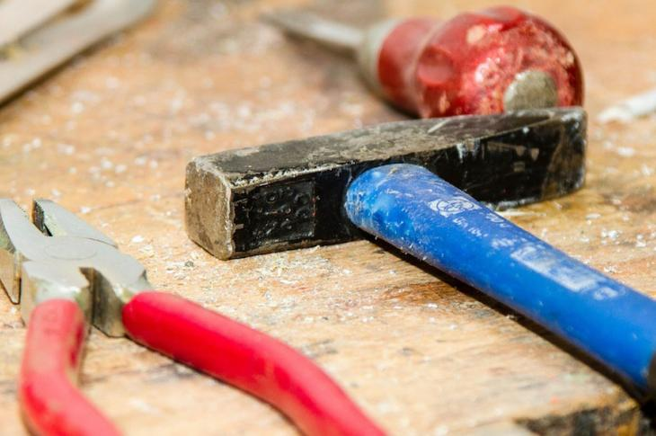 labor shortage-tools on workbench
