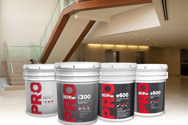 Behr Pro's e500 Exterior Paint