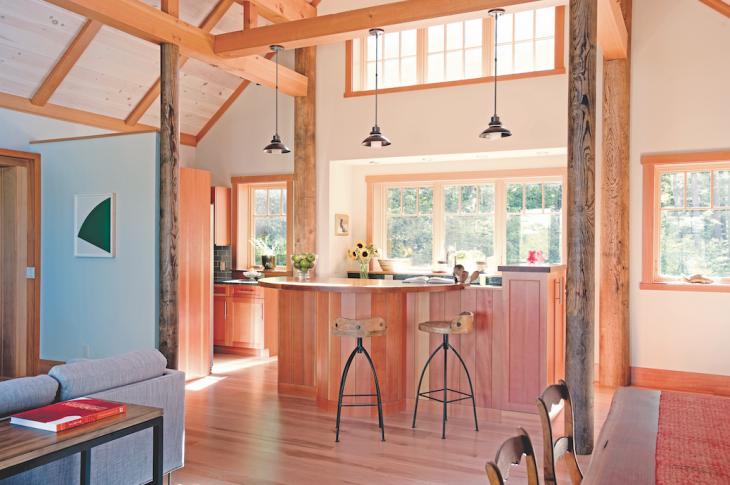 Modular home by Bensonwood. Photo: James R. Salomon