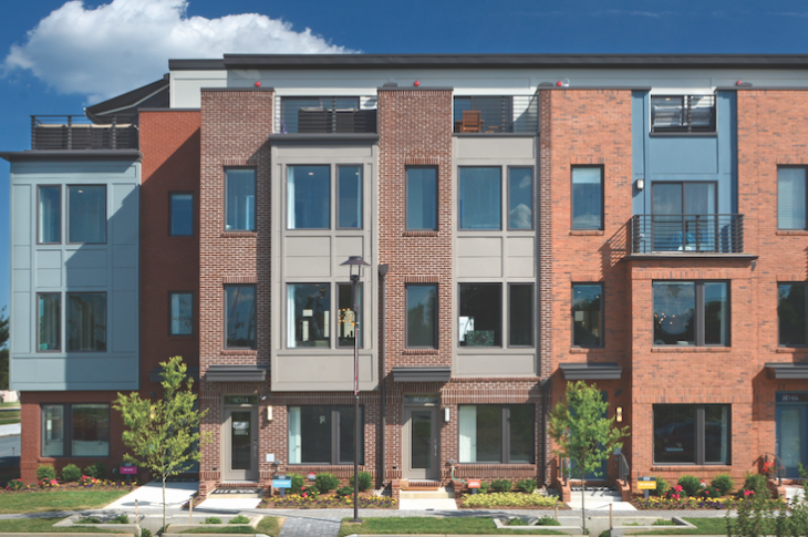 EYA's Westside housing offers a dense single-family development with an affordable component.
