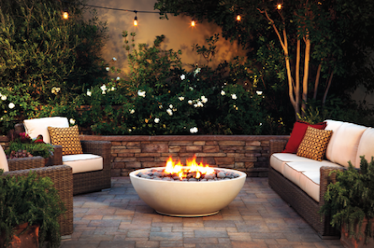 Eldorado Stone has introduced a larger Mezzaluna artisan fire bowl.