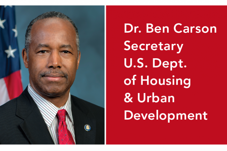 Ben Carson_HUD Secretary_Executive Corner Pro Builder_housing policy_affordable housing