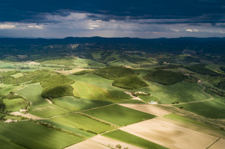 Land tracts_photo by Unsplash/Sandro Mattei