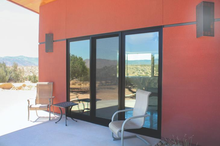 HomeMaker3 and EnergyCore EC190 (shown) sliding glass door collections from MI Windows and Doors