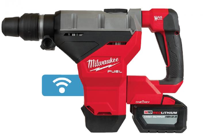 Milwaukee Tool_M18 rotary hammer_masonry tools_building tools