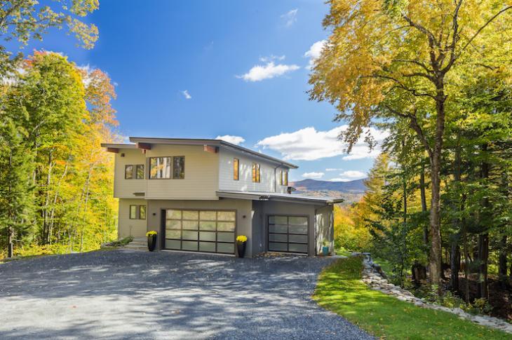 Mid-century modern house_Vermont