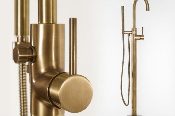Priya tub filler by Newport Brass
