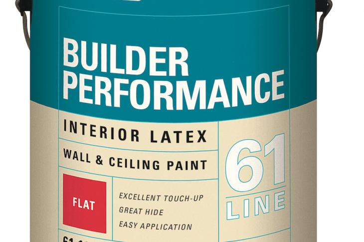 Builder Performance interior latex wall and ceiling paint from PPG