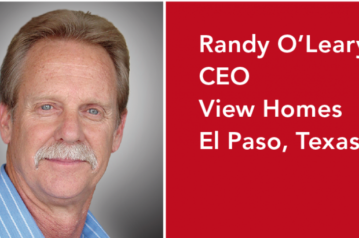 Randy O'Leary, CEO of View Homes