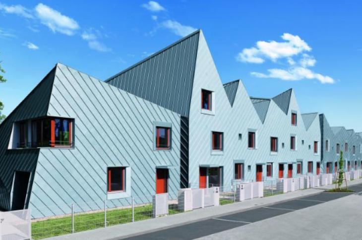 Rheinzink architectural-grade zinc cladding