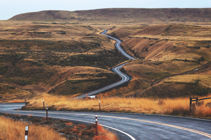 Follow the road to get where you want to be in business