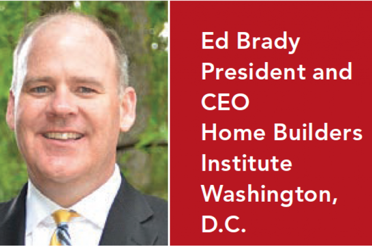 Ed Brady, President and CEO Home Builders Institute