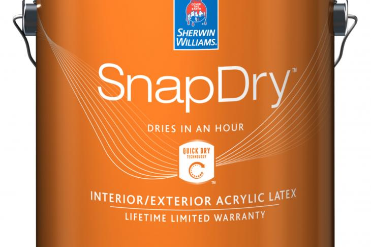 SnapDry paint