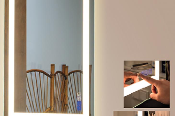 Strasser Woodenworks_Hi-tech Bluetooth Mirrors_lighting_bathroom products