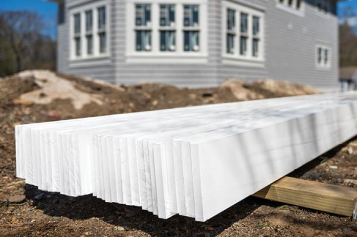 Tapco Kleer Rebuilding with Kleer PVC Trim