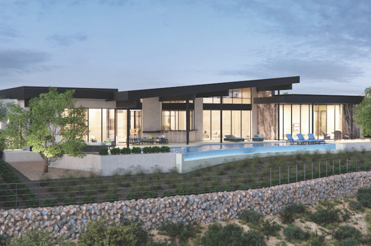 The New American Home 2019_rear elevation