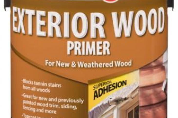 Rust-Oleum's Zinsser Exterior Wood Primer