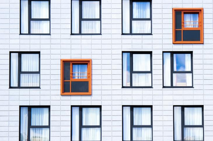prefab apartment facade