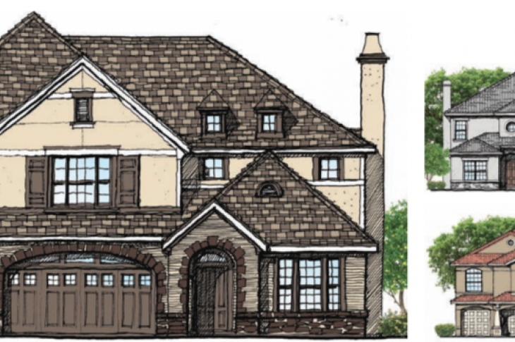 House Review offers inspiration for house plans and floor plans for home builders, architects, and residential contractors