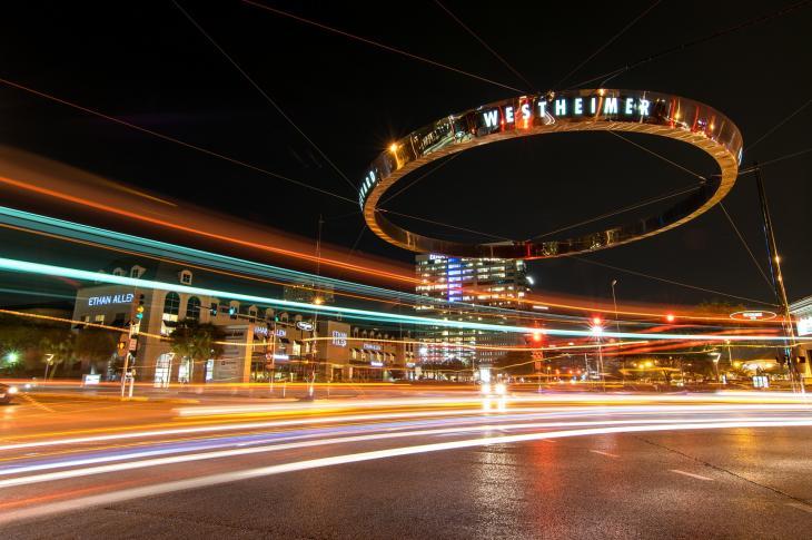 Houston at night, Photo: rwelborn via Pixabay