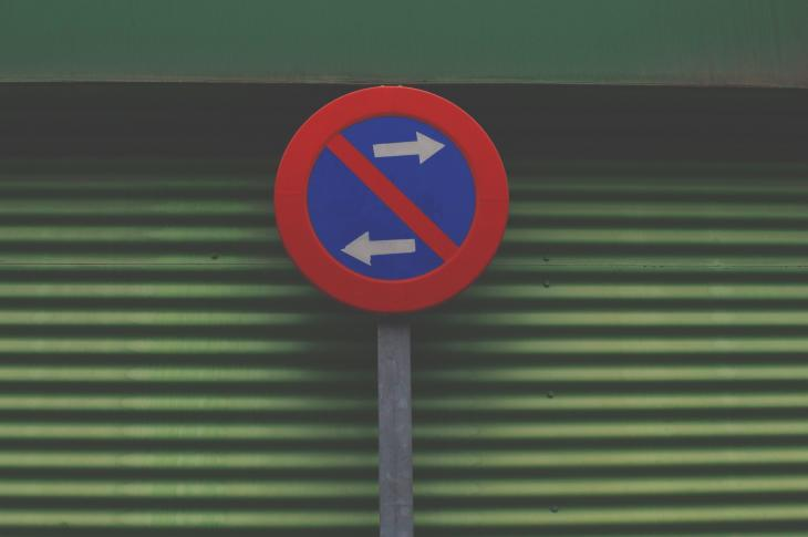mixed signal traffic sign