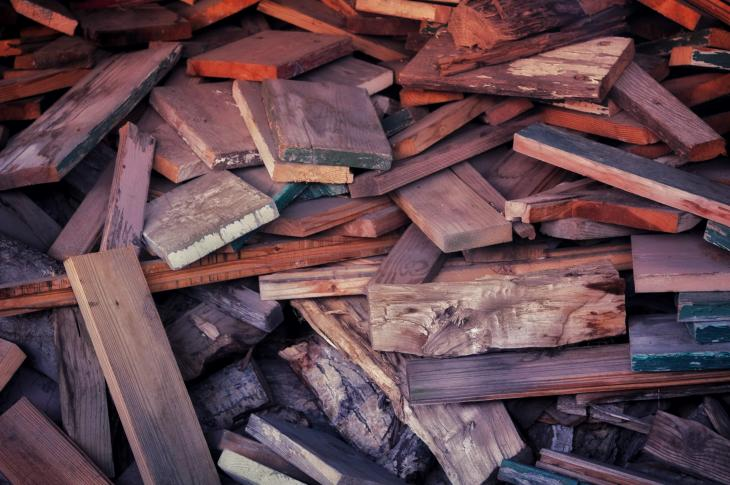 Pile of wood planks | A new data map from the National Association of Home Builders shows which countries are losing, and which are benefiting from the Trump administration's tariffs on imported lumber.