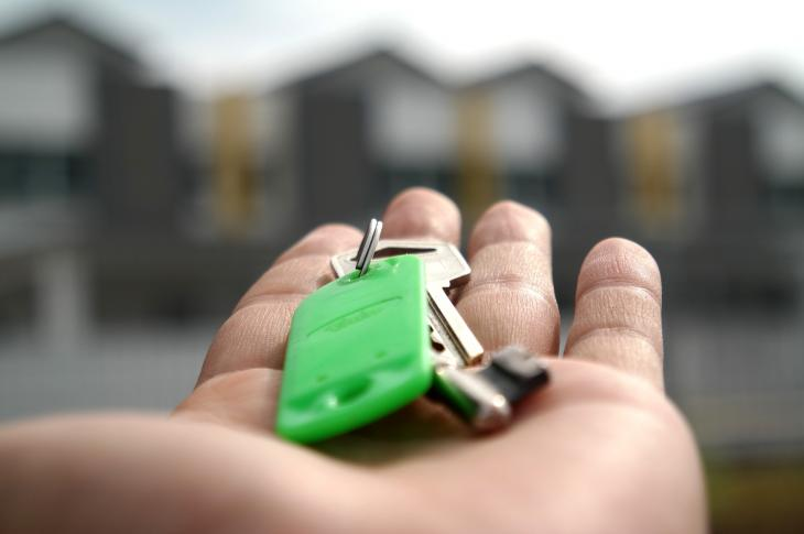 Key to a new home