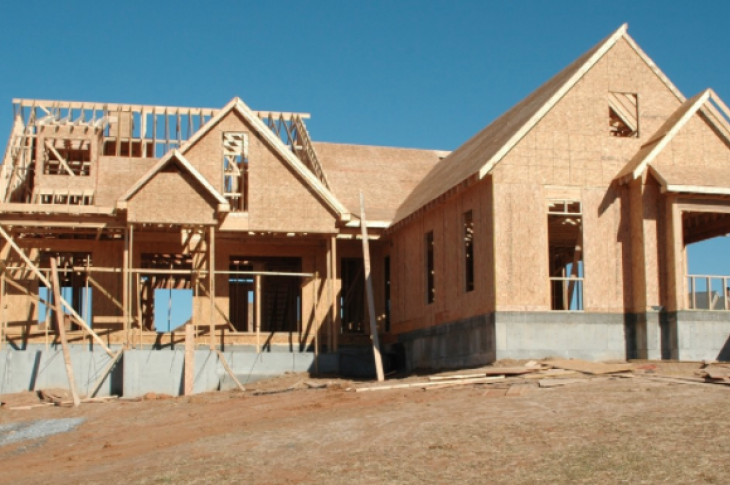 quality assurance_new home construction_house framed and walls up_CC0 photo