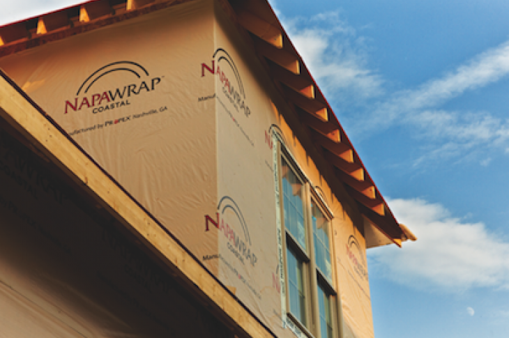 NapaWrap Coastal, Propex, house wrap, tear-free guarantee, 101 best new products