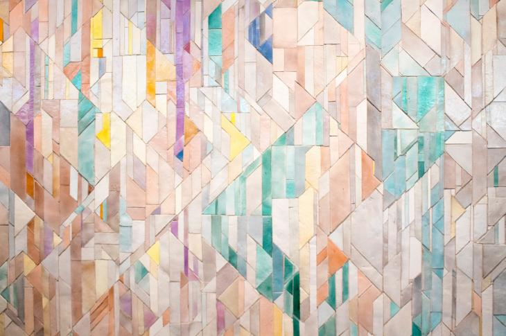 The 2019 Coverings was full of opposing forces—large-format slabs next to tiny mosaics, and bold graphics paired with hyperrealistic wood and concrete effects.
