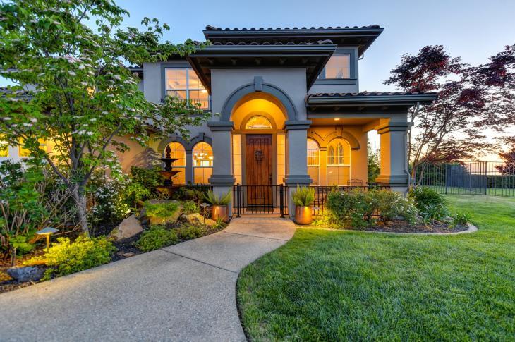 big house front door