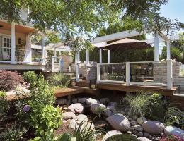 remodeler in chicagoland turns his backyard into oasis